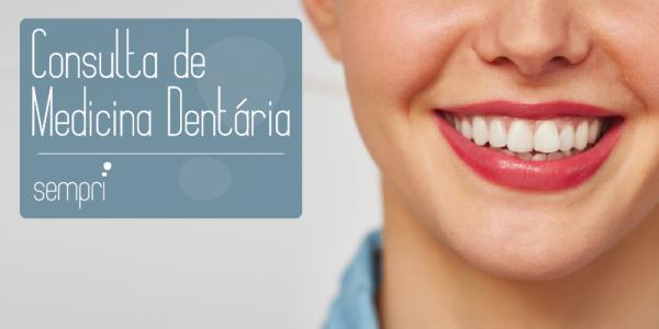 consulta de avaliação dentaria