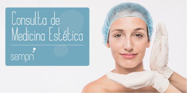 Consulta de avaliação na medicina estetica